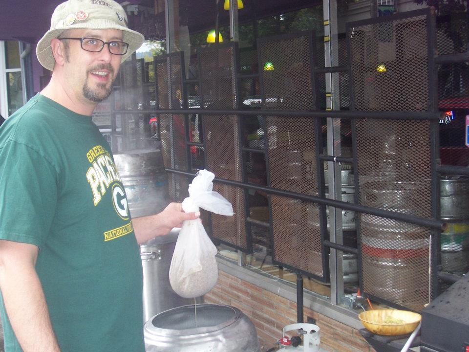 NoPo brewer and Plew's beertender Trevor Thurston