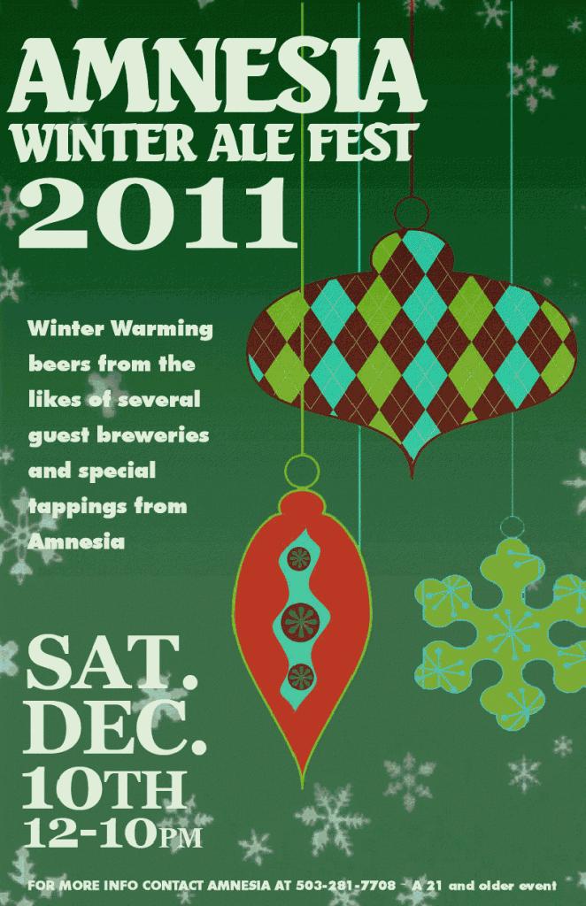 Amnesia Winter Ale Fest 2011