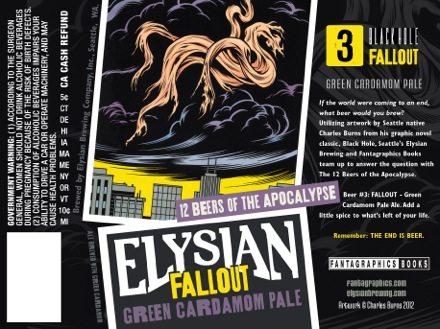 Elysian Fallout Green Cardamom Pale