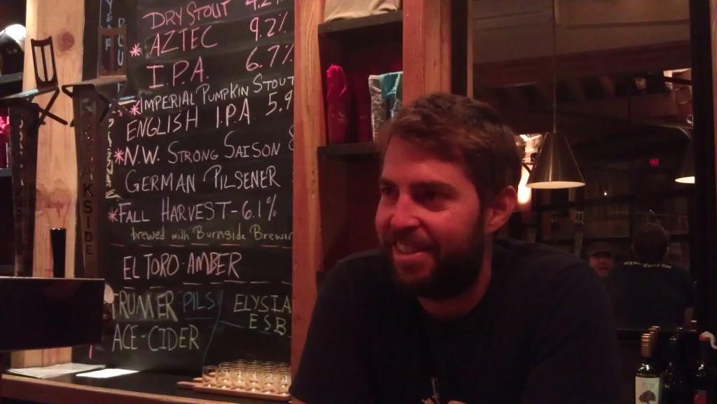 Scott Lawrence, co-founder of Breakside Brewery