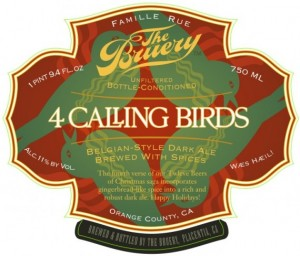 The Bruery 4 Calling Birds