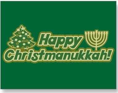 Happy Christmanukkah!