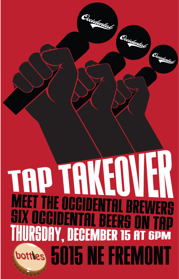 Occidental Brewers Tap Takeover