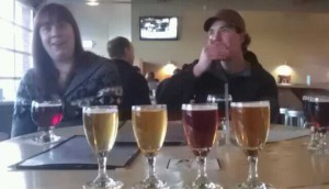 4 Goses of the Apuckerlips and Van Crouvians Jennifer Tierney and Ryan Hargrave at Cascade Brewing Barrel House