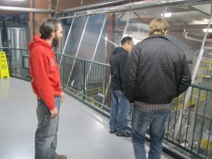 Deschutes Brewery's Aaron Calihan gives us the tour