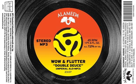 "Wow & Flutter/Alameda ""Deuce Deuce"" collaborative release"
