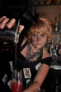Ashley Routson, mixologist (photo by Mike Condie)