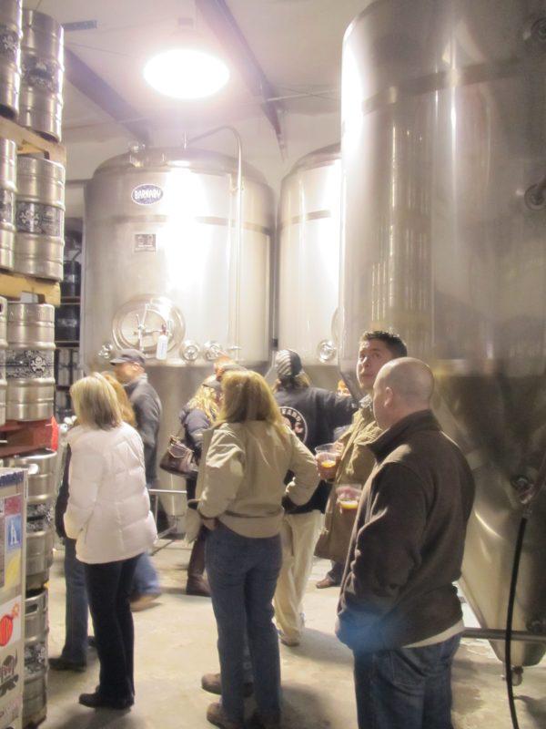 Early crowd at Boneyard Beer for Zwickelmania 2012