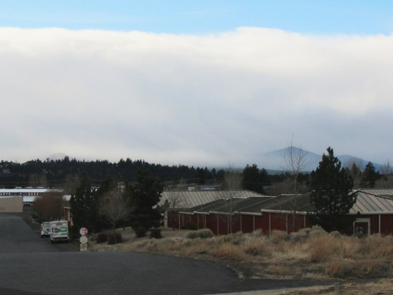 """This picture doesn't do justice to the view that folks will have from """"Yet To Be Named"""" Brewery in Bend, OR once summer rolls around."""