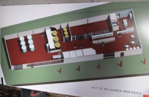 """Floor plans for """"Yet To Be Named"""" Brewery in Bend, OR"""