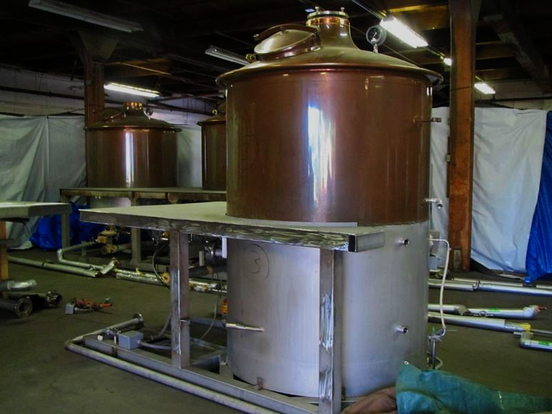 """Brew kettle of """"Yet to Be Named"""" Brewery of Bend, OR"""