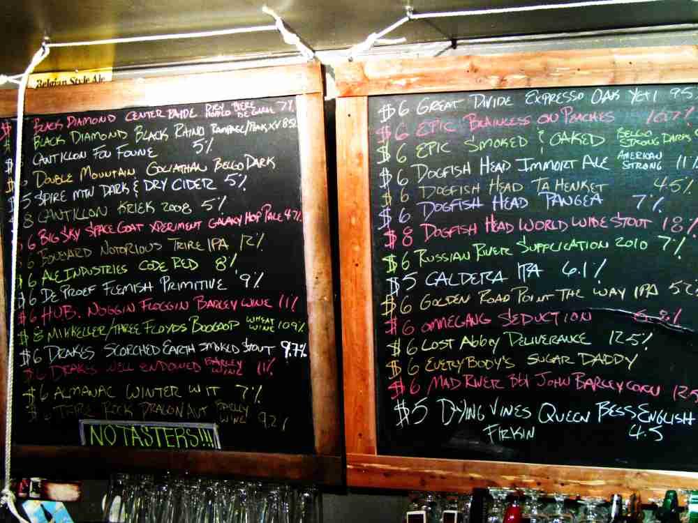 Beer Revolution 2nd Anniversary Tap List part 2