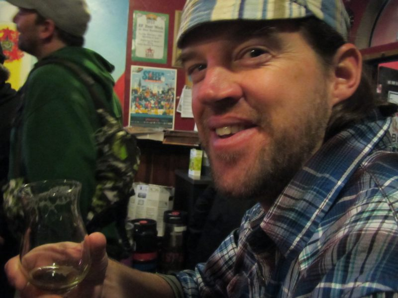 """My friend Erik """"Kote"""" Kotkas from Maine was in the house for Beer Revolution's second anniversary bash"""