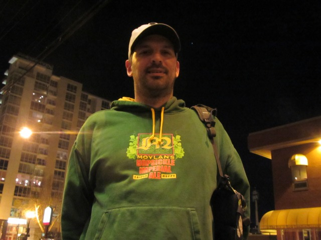James Costa, brewmaster/owner of Oakland Brewing Co.