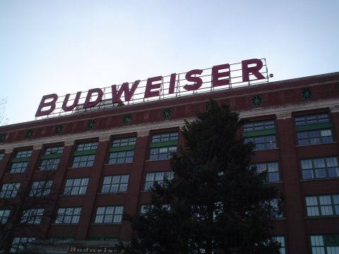 Budweiser headquarters in St Louis, Missouri