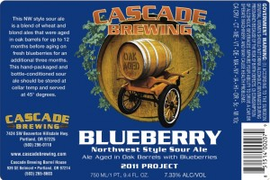 Cascade Blueberry Sour