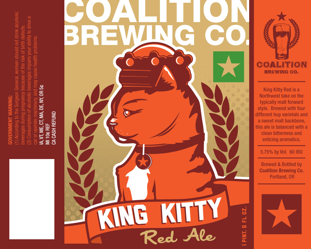 Coalition King Kitty Red Ale