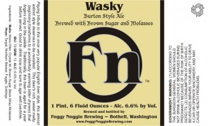 Foggy Noggin Wasky Burton Style Ale