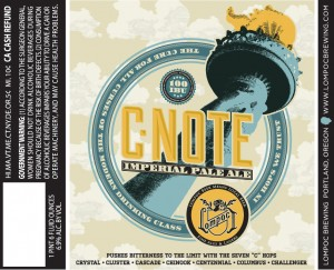 Lompoc C-Note Imperial Pale Ale
