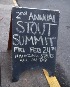 Roscoe's 2nd Annual Stout Summit