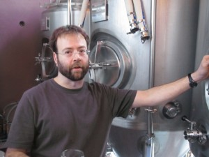Scott Guckel, brewer at Old Town Pizza Brewing