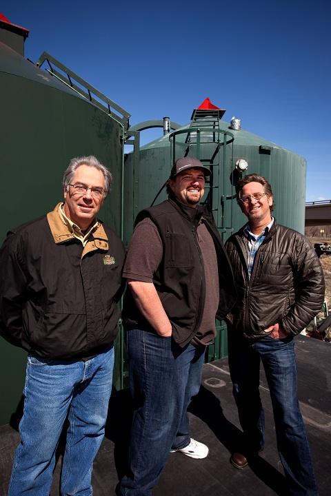 Crux Fermentation Project founders L to R: Larry Sidor, Dave Wilson, and Paul Evers (©2012 Photo by Brian J. Bulemore, ABACUS PHOTOGRAPHY)
