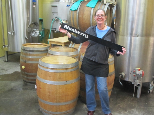 Cascade Brewing's Brittany Brant-Figleshaler
