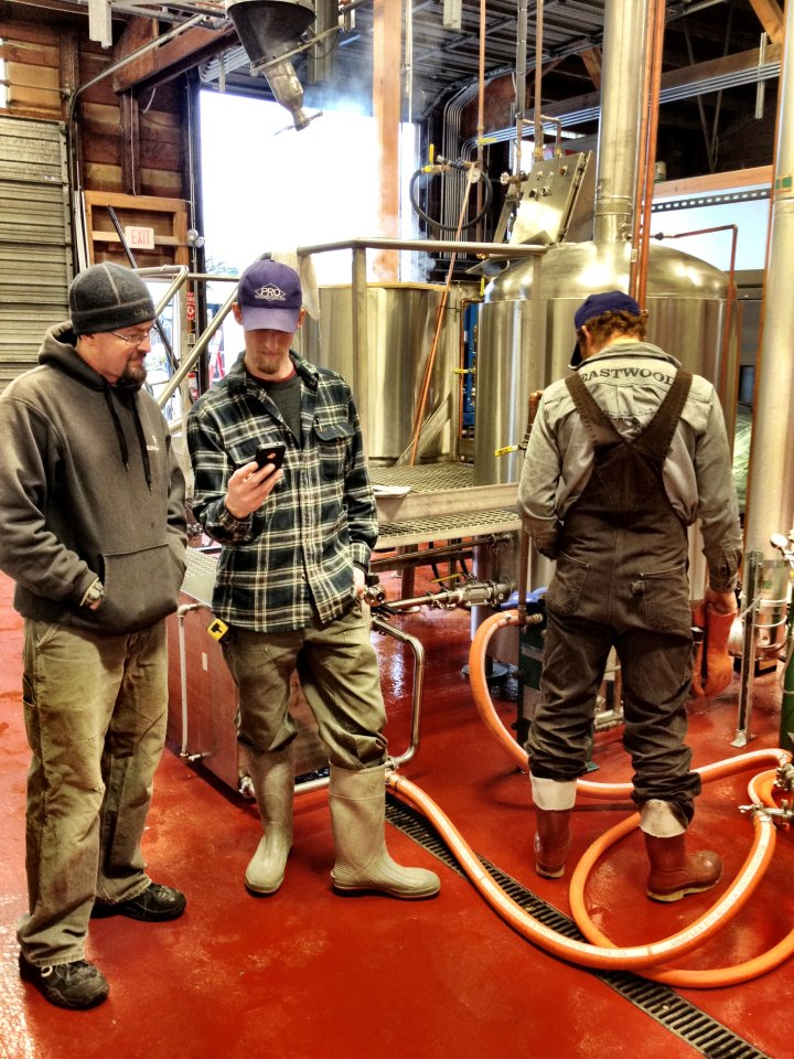 Jon, Dave, and Tom of Kulshan Brewery