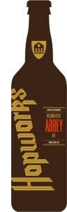 Hopworks Belgian-Style Abbey Ale mockup