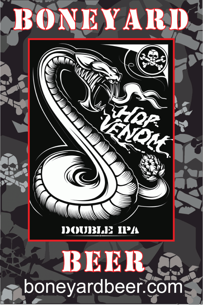 Boneyard Hop Venom Double IPA