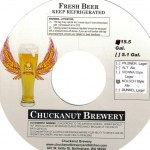 Chuckanut Brewing keg necker