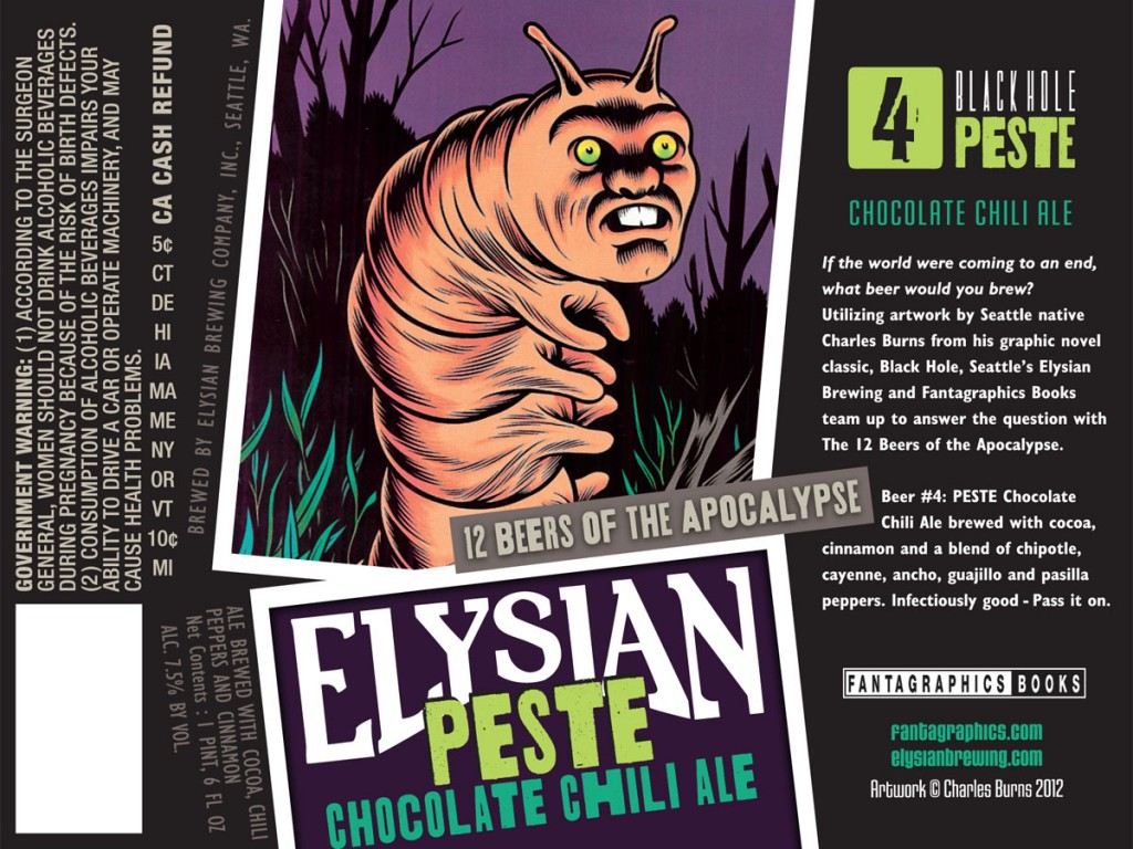 Elysian Peste Chocolate Chili Stout