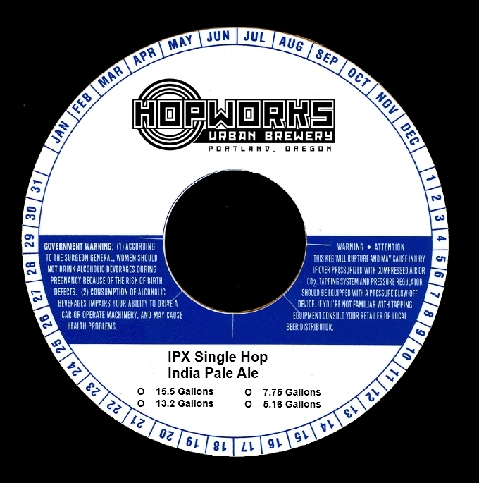 Hopworks IPX Single Hop India Pale Ale