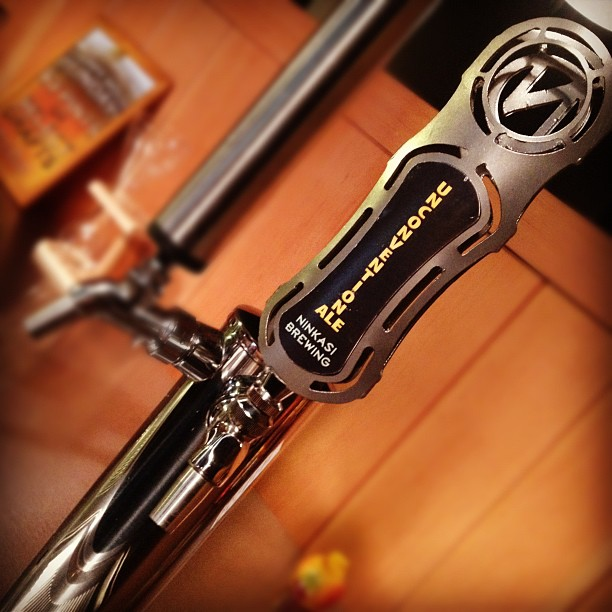 Ninkasi Unconventionale on tap at By The Bottle