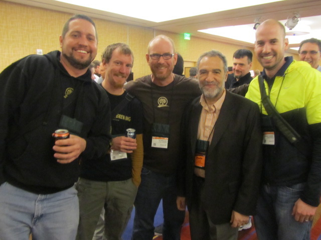 Oakshire crew at CBC 2011 with Dr. Charlie Papazian