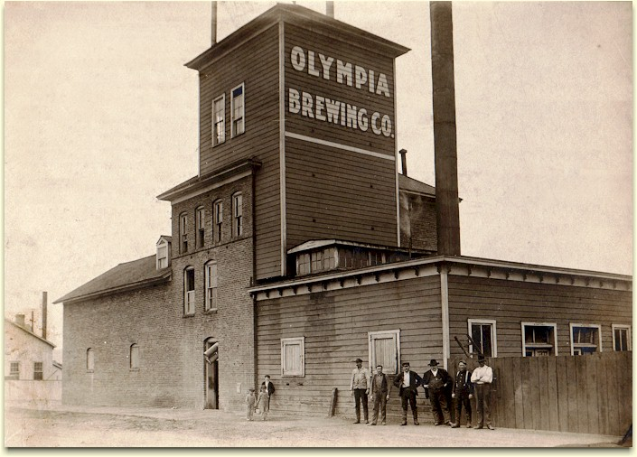 Olympia-Butte Brewery (photo courtesy of Brewerygems.com)