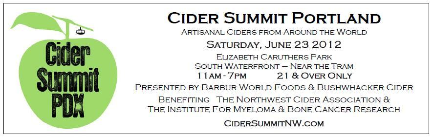 PDX 2nd Annual NW Cider Summit