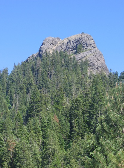 Pilot Rock in Ashland, Oregon (photo by M.A. Schweisguth)