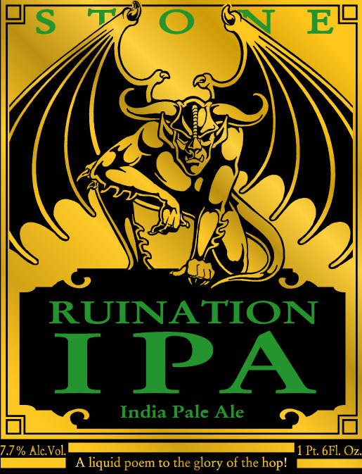 Stone Brewing Ruination