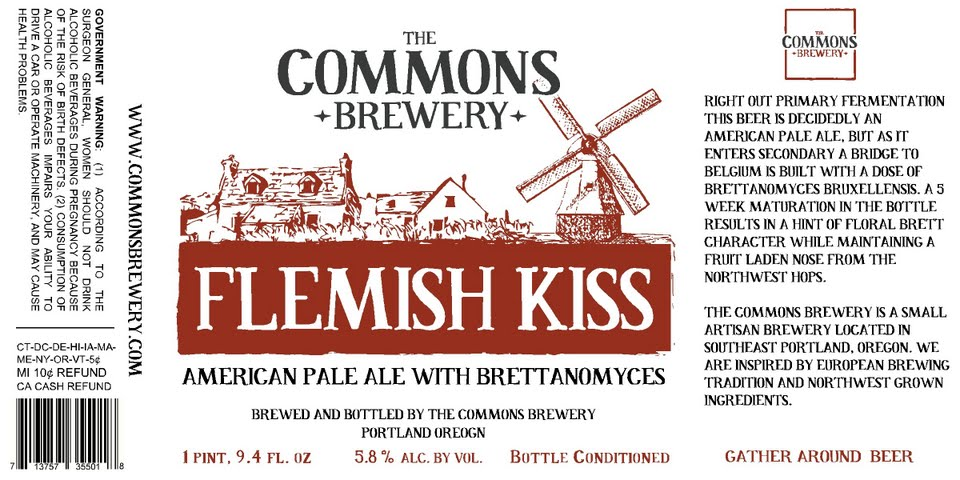 The Commons Flemish Kiss