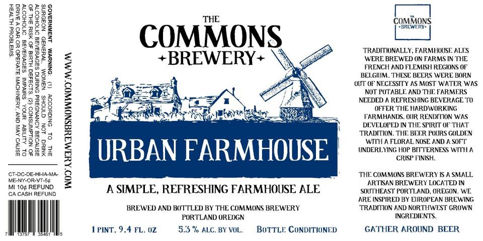 The Commons Urban Farmhouse Ale