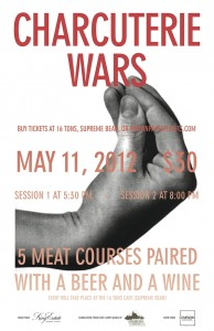 Charcuterie Wars @ 16 Tons