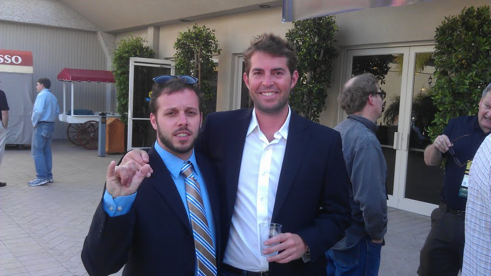 Ben Edmunds and Scott Lawrence of Breakside Brewery