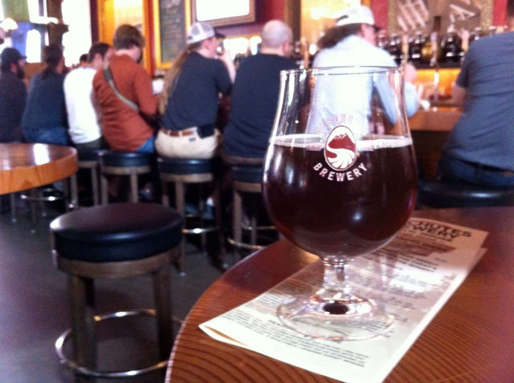 "Deschutes and Hair of The Dog's ""Collage"" Release at Deschutes' Portland brewpub"