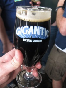 "Gigantic Brewing ""The City Never Sleeps"" Black Saison"