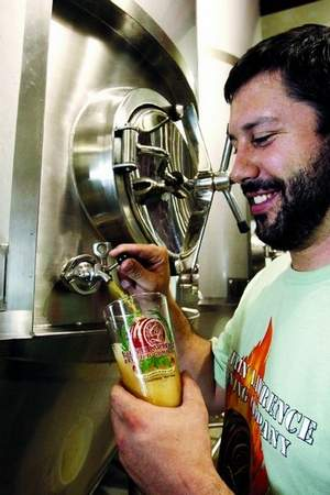 Scott Vaccaro of Captain Lawrence Brewing
