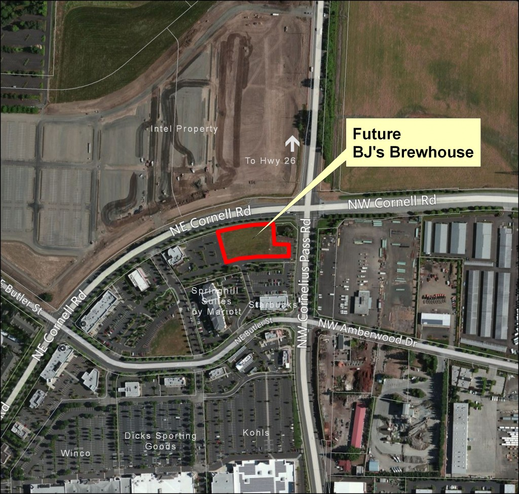 New BJ's Brewhouse location in Hillsboro (map)