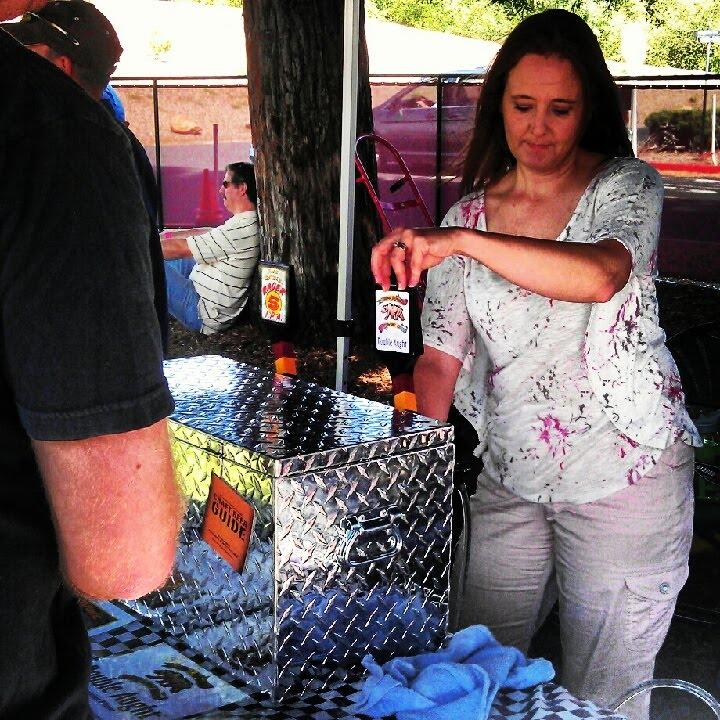 Bear Republic Double Aught pouring at Santa Rosa Brewfest '12