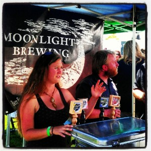 Moonlight Brewing at Santa Rosa Brewfest