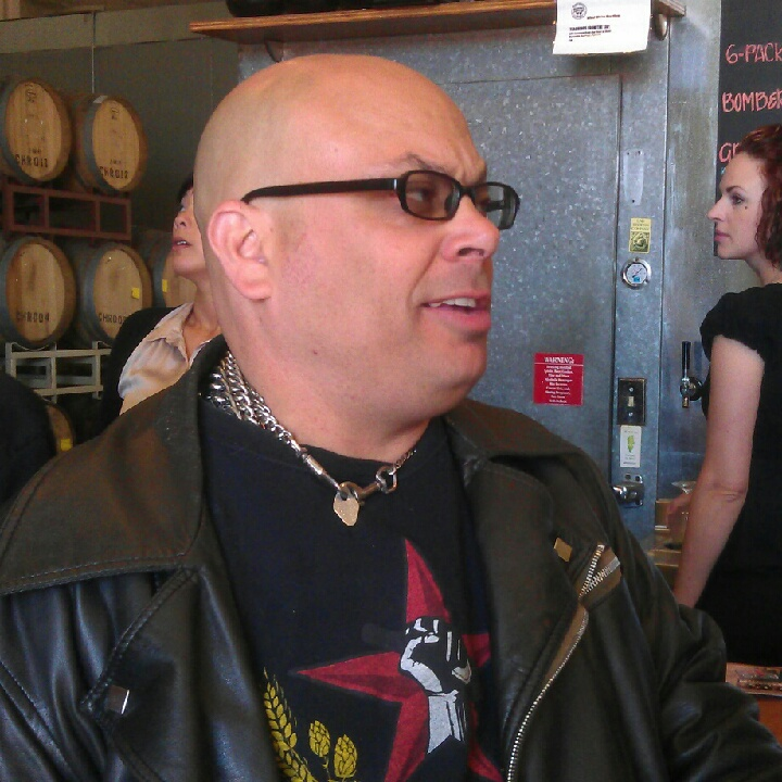 Fraggle Martone of Beer Revolution celebrates Drake's Barrel House 1st Anniversary